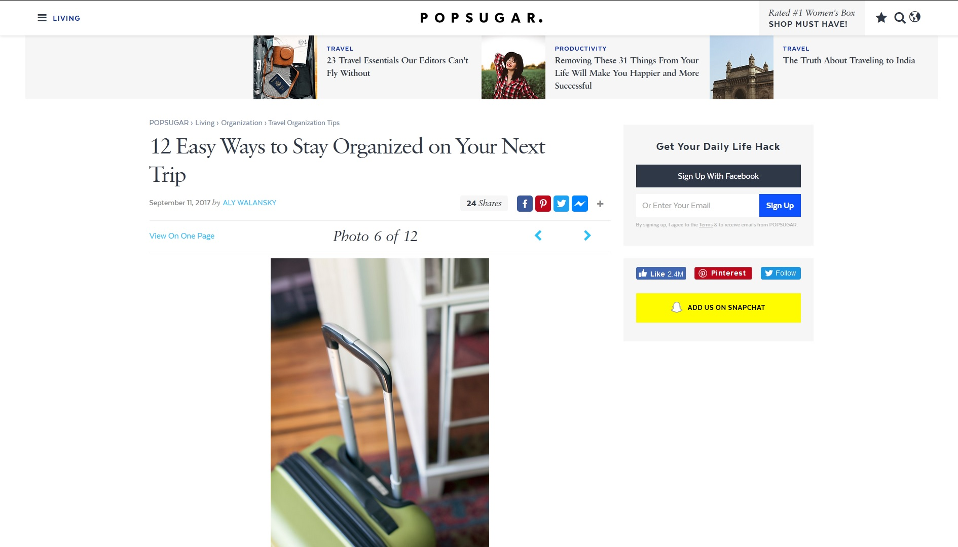 12 Easy Ways to Stay Organized on Your Next Trip