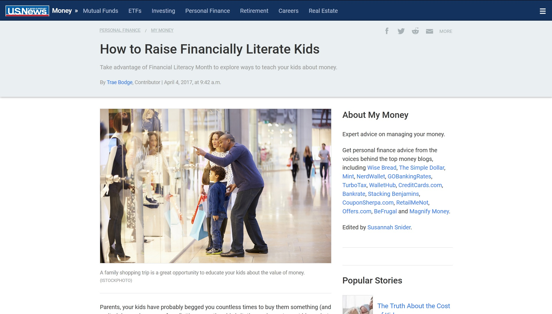 How to Raise Financially Literate Kids